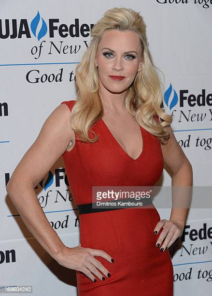 Jenny McCarthy attends the UJAFederation Of New York Entertainment Media And Communications Leadership Awards Dinner at Pier Sixty at Chelsea Piers...