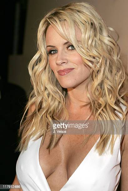 Jenny McCarthy during 2005 Cannes Film Festival 'National Lampoon's Pledge This' Party at Baoli in Cannes France