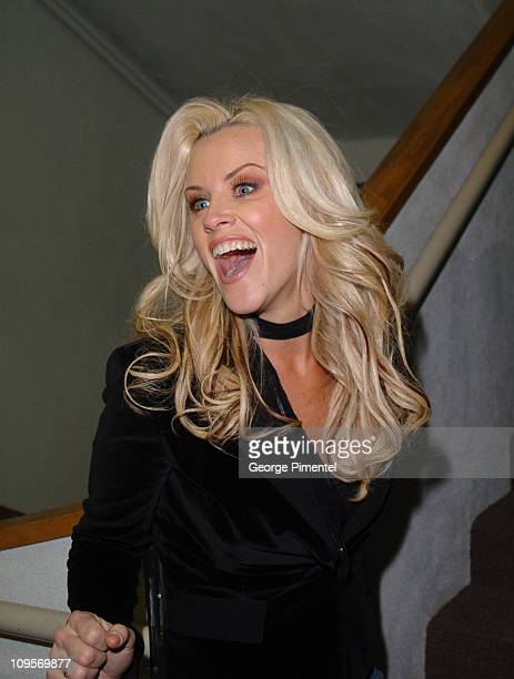 Jenny McCarthy during 2005 Sundance Film Festival 'Dirty Love' Midnight Premiere at Library Theatre in Park City Utah United States