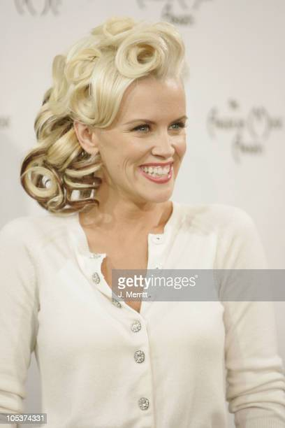 Jenny McCarthy during 32nd Annual American Music Awards Press Room at Shrine Auditorium in Los Angeles California United States
