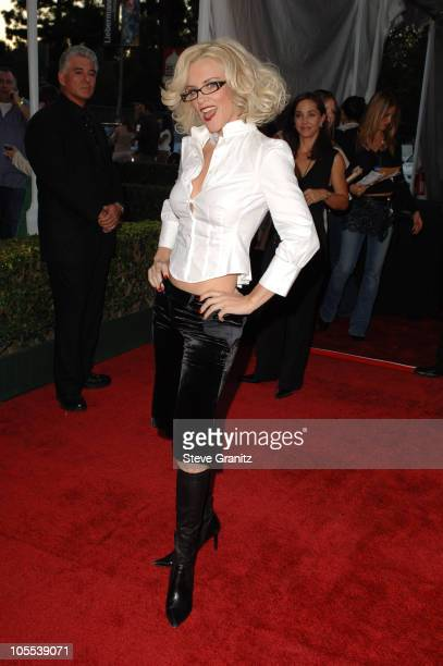 Jenny McCarthy during 33rd Annual American Music Awards Arrivals at Shrine Auditorium in Los Angeles California United States