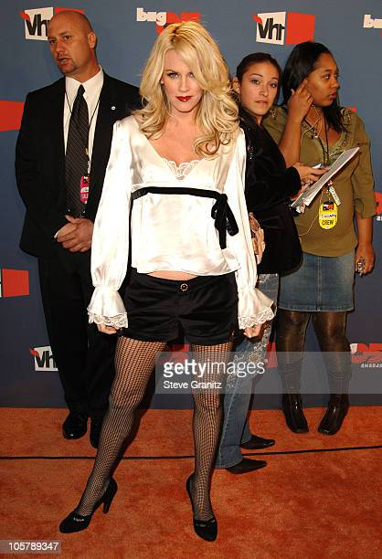 Jenny McCarthy during VH1 Big in '05 Arrivals at Sony Studios in Culver City California United States