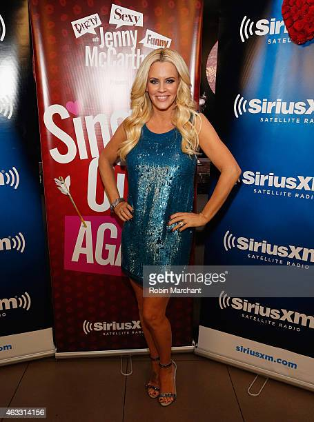 Jenny McCarthy hosts 'Singled OutAgain' On Her Exclusive SiriusXM Show 'Dirty Sexy Funny With Jenny McCarthy' on February 12 2015 in New York City