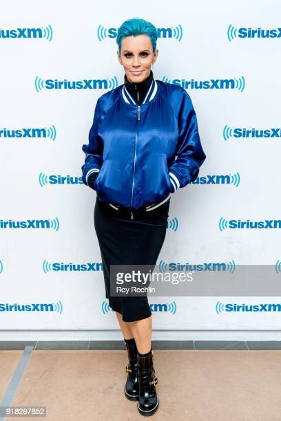 Jenny McCarthy hosts the Jenny McCarthy show at SiriusXM Studios on February 14 2018 in New York City