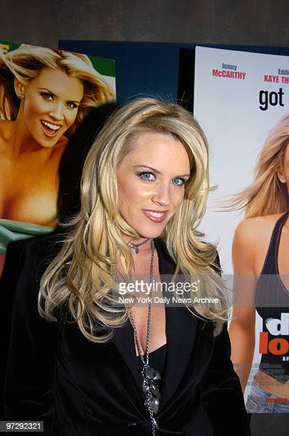 Jenny McCarthy is at the club Cain in Chelsea for a party she and FHM magazine are hosting to celebrate her new movie Dirty Love She wrote and stars...