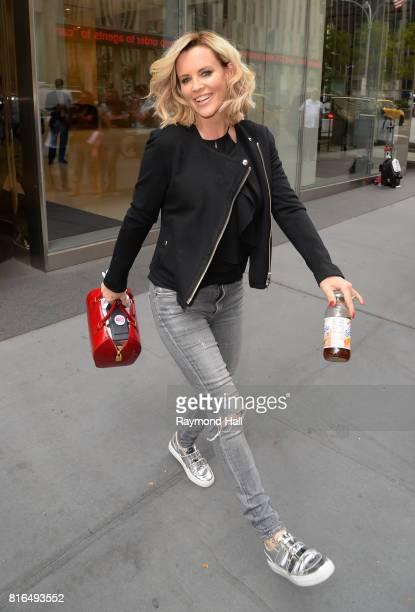 Jenny McCarthy is seen walking Midtown on July 17 2017 in New York City