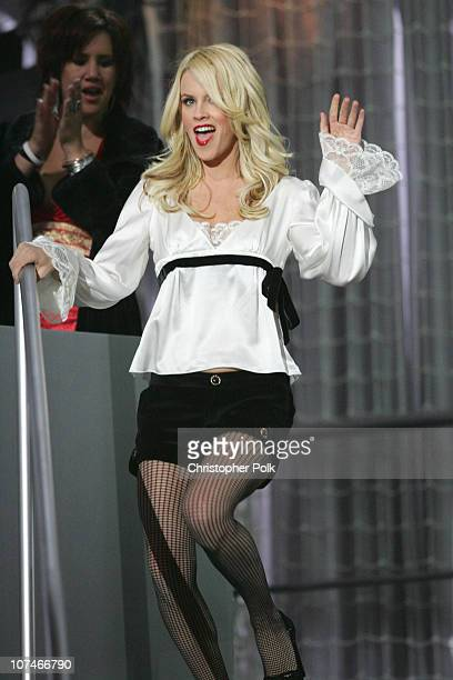 Jenny McCarthy presenter during VH1 Big in '05 Show at Sony Studios in Los Angeles California United States
