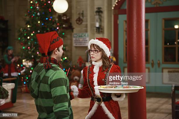 maybe jenny mccarthy reprises her role as mary class santas business minded daughter starring alongside paul abc familys santa baby 2 christmas - Santa Baby 2 Christmas Maybe
