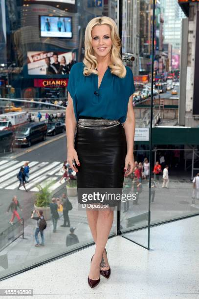 Jenny McCarthy visits Extra at their New York studios at HM in Times Square on September 16 2014 in New York City