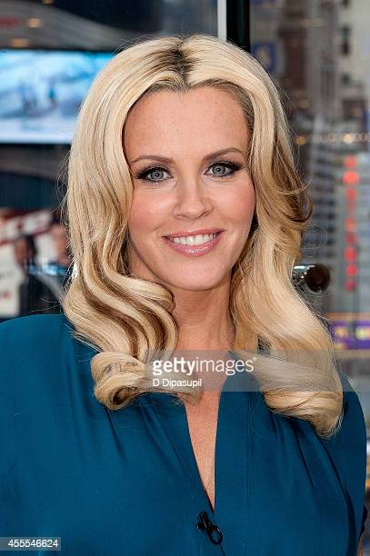 Jenny McCarthy visits 'Extra' at their New York studios at HM in Times Square on September 16 2014 in New York City