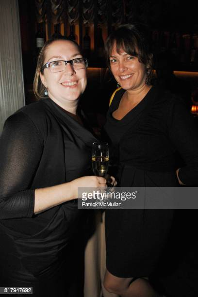 Jenny McCathern and Kim Mcleod attend FOOD WINE CELEBRATES TOP CHEF'S SINGAPORE VIEWING FINALE at 47 East 19th Street on September 15th 2010 in New...