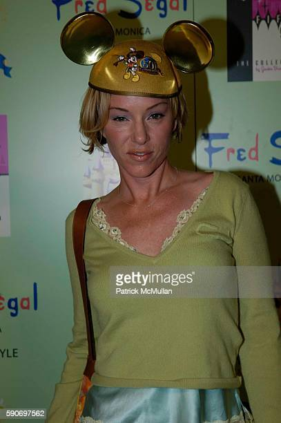 Jenny McShane attends Disney Vintage by Jackie Brander Celebrates 50th Anniversary of Disneyland at Fred Segal on July 13 2005 in Santa Monica CA