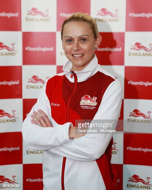 Jenny Meadows during the kitting out session at St George's Park, Burton. PRESS ASSOCIATION Photo. Picture date: Monday June 23, 2014. Photo credit...