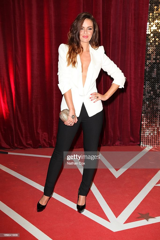 Jenny Metcalfe attends The British Soap Awards 2013 at Media City on May 18, 2013 in Manchester, England.