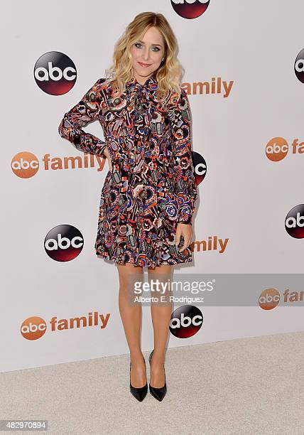 Jenny Mollen attends Disney ABC Television Group's 2015 TCA Summer Press Tour at the Beverly Hilton Hotel on August 4 2015 in Beverly Hills California