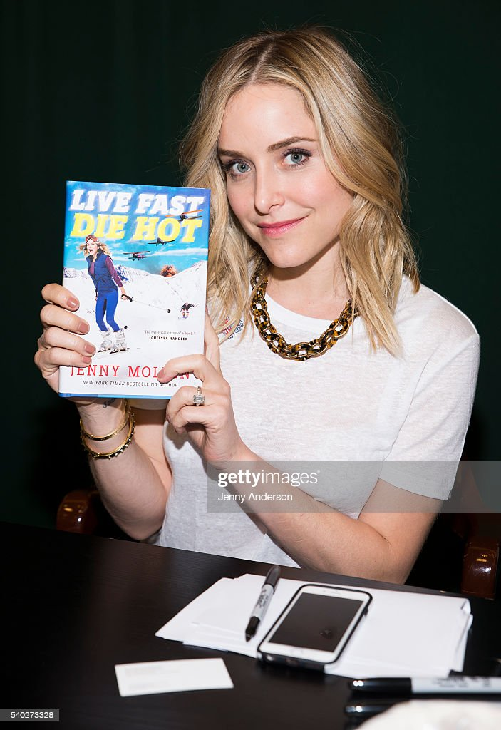"Jenny Mollen Signs Copies Of ""Live Fast Die Hot"""