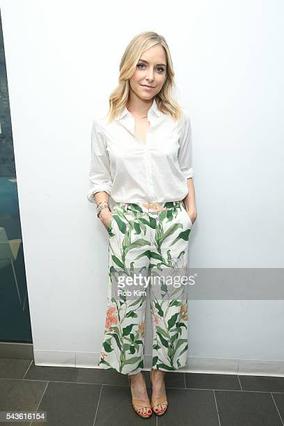 Jenny Mollen visits at SiriusXM Studio on June 29 2016 in New York City