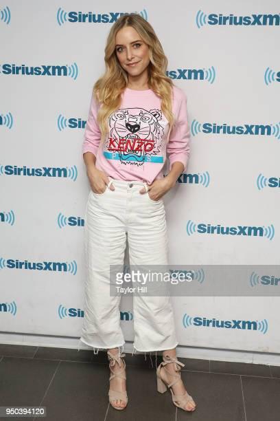 Jenny Mollen visits the SiriusXM Studios on April 23 2018 in New York City