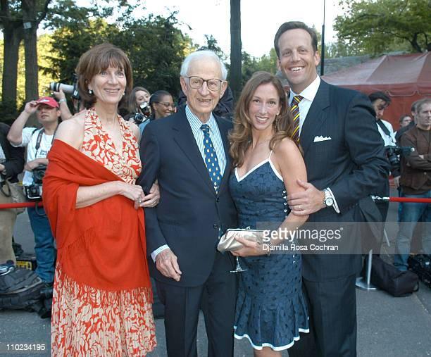 Jenny Morgenthau Robert Morgenthau Allison Waterman and Todd Waterman