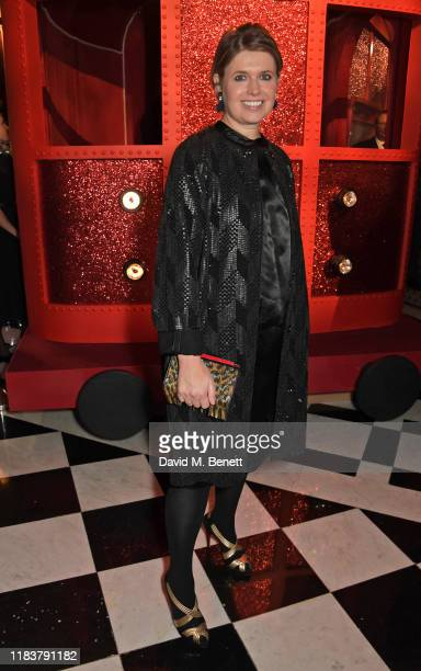 Jenny Packham attends the launch of the Claridge's Christmas Tree 2019 designed by Christian Louboutin at Claridge's Hotel on November 21, 2019 in...