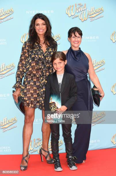 Jenny Powell and family attend the Gala performance of Wind In The Willows at London Palladium on June 29, 2017 in London, England.