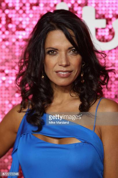 Jenny Powell arrives at the ITV Gala held at the London Palladium on November 9, 2017 in London, England.