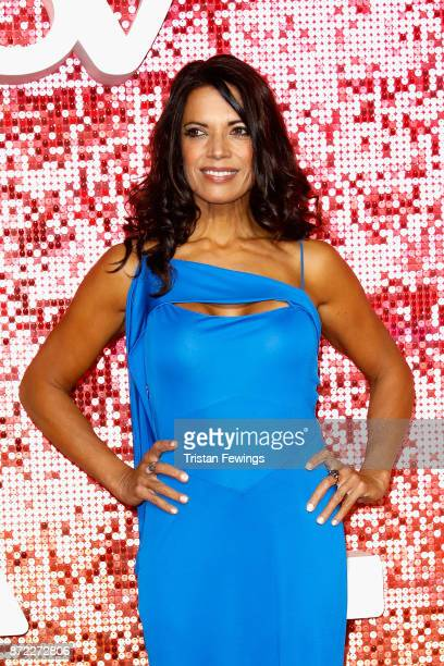 Jenny Powell arriving at the ITV Gala held at the London Palladium on November 9, 2017 in London, England.