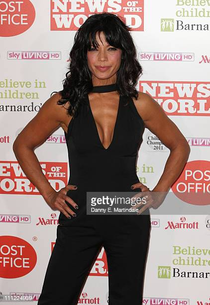 Jenny Powell attend the News Of The World Children's Champion Awards at The Grosvenor House Hotel on March 30 2011 in London England