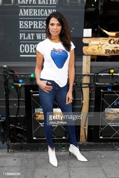 Jenny Powell attends the Celebs On The Ranch screening party at the Jerusalem Bar Kitchen on April 01 2019 in London England