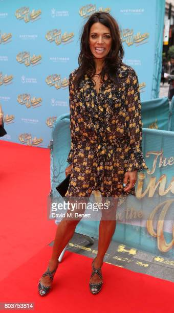 """Jenny Powell attends the press night performance of """"The Wind In The Willows"""" at the London Palladium on June 29, 2017 in London, England."""