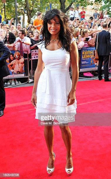 Jenny Powell attends the world premiere of 'Keith Lemon The Film' on August 20, 2012 in London, United Kingdom.