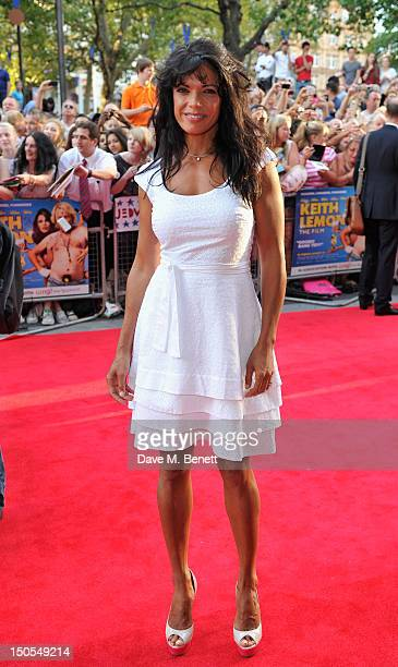 Jenny Powell attends the world premiere of 'Keith Lemon The Film' on August 20 2012 in London United Kingdom