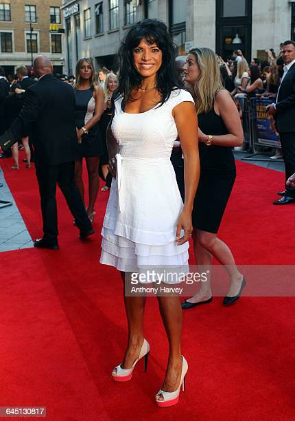 Jenny Powell attends the World Premiere of Keith Lemon The Film on August 20, 2012 at the Odeon West End in London.