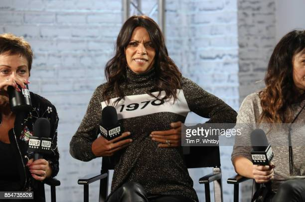 Jenny Powell discusses the medias role in ageism during a BUILD LND event at AOL on September 27, 2017 in London, England.