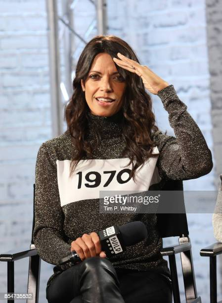 Jenny Powell discusses the medias role in ageism during a BUILD LND event at AOL on September 27 2017 in London England