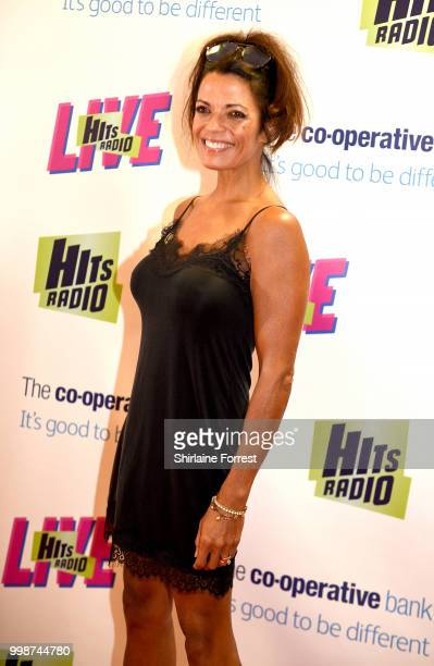 Jenny Powell during Hits Radio Live at Manchester Arena on July 14 2018 in Manchester England
