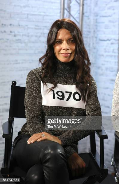 Jenny Powell poses for a photo after discussing the medias role in ageism during a BUILD LND event at AOL on September 27 2017 in London England
