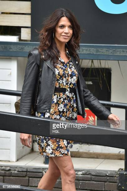 Jenny Powell seen at the ITV Studios on April 27, 2017 in London, England.