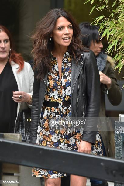 Jenny Powell seen at the ITV Studios on April 27 2017 in London England