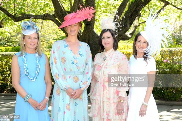 Jenny Price Amandine Freidheim Elyse Newhouse and Marie Unanue attend 36th Annual Frederick Law Olmsted Awards Luncheon Central Park Conservancy at...