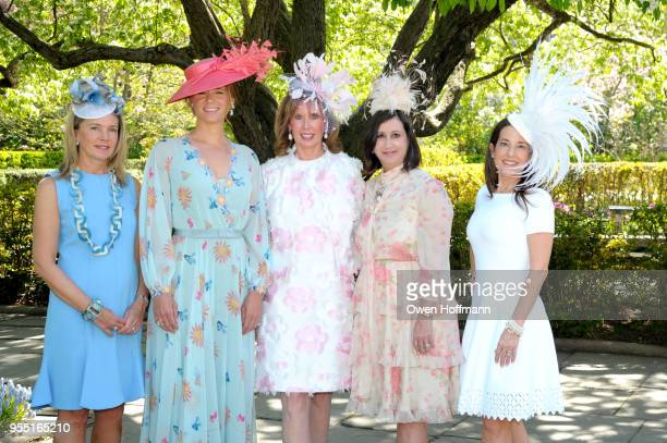 Jenny Price Amandine Freidheim Suzie Aijala Elyse Newhouse and Marie Unanue attend 36th Annual Frederick Law Olmsted Awards Luncheon Central Park...