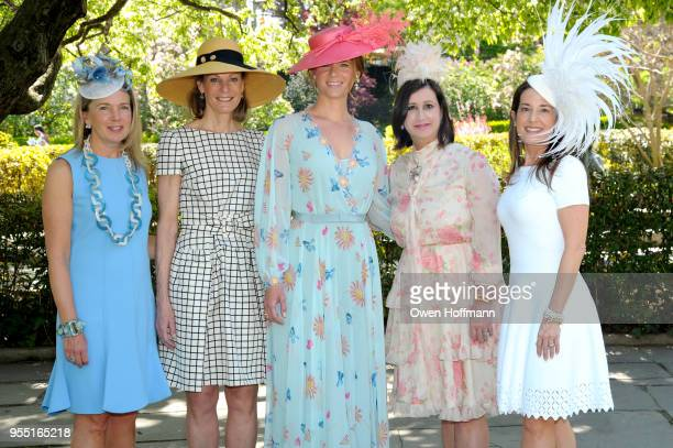 Jenny Price Betsy Smith Amandine Freidheim Elyse Newhouse and Marie Unanue attend 36th Annual Frederick Law Olmsted Awards Luncheon Central Park...