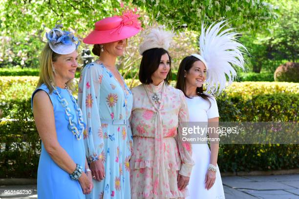 Jenny Price Suzie Aijala Elyse Newhouse and Marie Unanue attend 36th Annual Frederick Law Olmsted Awards Luncheon Central Park Conservancy at The...