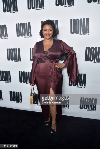 Jenny Rieu attends UOMA Beauty Launch Event at NeueHouse Hollywood on April 25 2019 in Los Angeles California