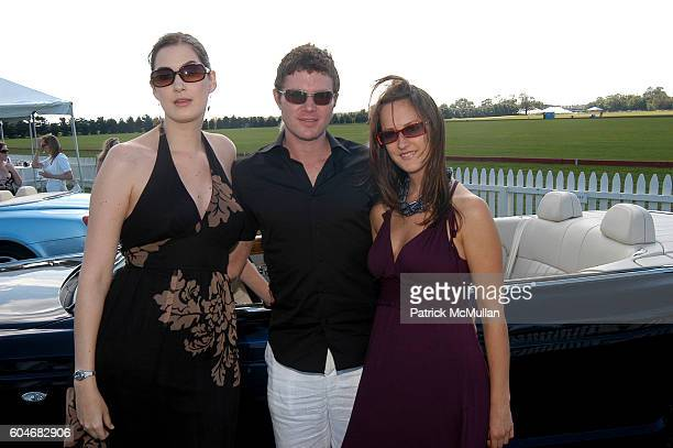 Jenny Roberts Nick Dietz and Jessica Winters attend A Taste of Polo to Benefit the Nova's Ark Project at the finals of the Southampton Polo Cup on...