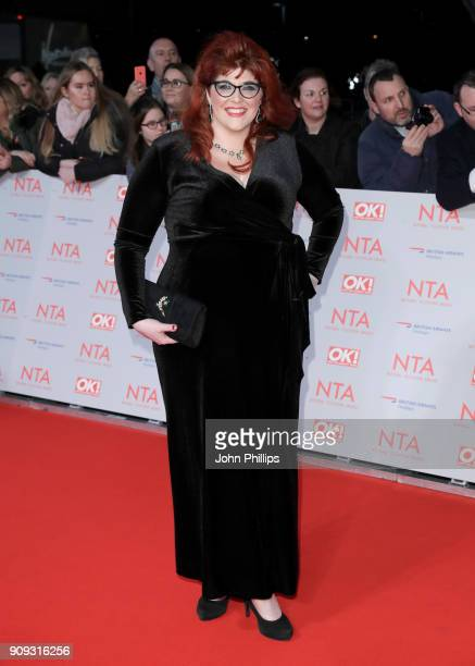 Jenny Ryan attends the National Television Awards 2018 at the O2 Arena on January 23 2018 in London England