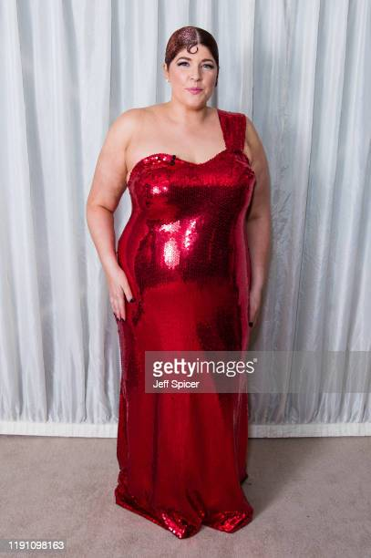 Jenny Ryan backstage at the X Factor Celebrity Final at LH2 Studios on November 30 2019 in London England