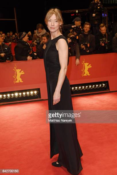 Jenny Schily arrives for the closing ceremony of the 67th Berlinale International Film Festival Berlin at Berlinale Palace on February 18 2017 in...