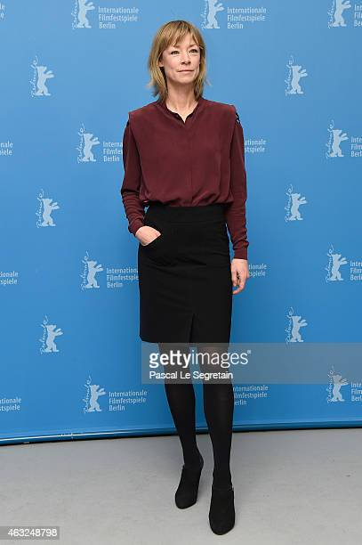 Jenny Schily attends the 'Dora or The Sexual Neuroses of Our Parents' photocall during the 65th Berlinale International Film Festival at Grand Hyatt...
