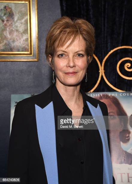 Jenny Seagrove attends an after party following the World Premiere of 'Another Mother's Son' at Cafe de Paris on March 16 2017 in London England